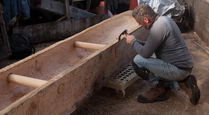 Construction of Lee's Island 5 – A Dugout Boat sacrificed in the Late Bronze Age?